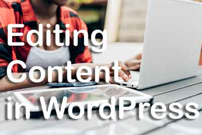 Editing Content in WordPress